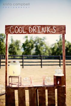 Romances prom themes and prom on pinterest for Rustic lemonade stand