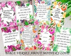mothers day bible verses cards scripture memory cards bible journaling esv scripture mothers bible s Mothers Day Bible Verse, Memory Verses For Kids, Verses For Cards, Printable Bible Verses, Scripture Cards, Scripture Study, Prayer Cards, Bible Bookmark, Bookmarks