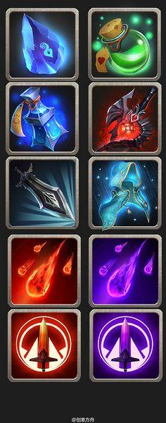 丿肉丸儿采集到游戏图标 Game Concept, Concept Art, Game Icon Design, 2d Game Art, Game Textures, Game Props, Mobile Art, Game Background, Game Item