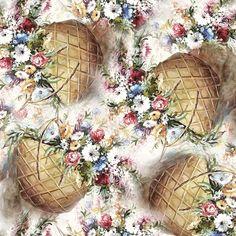 All Print, Creative Design, Decoupage, Floral Design, Floral Wreath, Artsy, Wallpaper, Flowers, Fabric