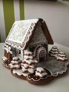 Gingerbread, Desserts, Houses, Food, Ideas, Deserts, Bakken, Tailgate Desserts, Homes