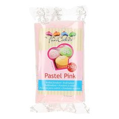 FunCakes Rollfondant Pastel Pink - Pastellrosa, 250g Pastell Party, Rolling Fondant, Cupcakes, Sparkling Ice, Pastel Pink, Amazing Cakes, Cover, Packaging, Decorating