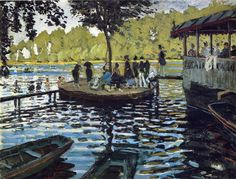 The Grenouillère 1869 Claude Monet