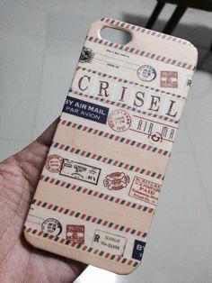 Washi tape-ing phone covers