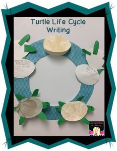 One Tiny Turtle Craft and Writing