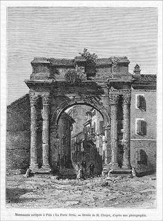 Famous Sergi' s Arch, Portarata, Pula, Austro Hungarian, Pula, Big Ben, Arch, Louvre, Building, Travel, Longbow, Viajes