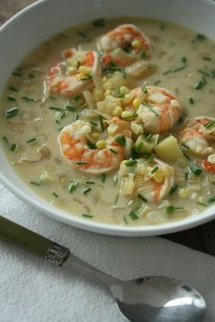 Shrimp and Corn Chow