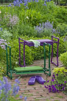 Our Deep Seat Garden Kneeler offers sturdy support for kneeling and sitting.