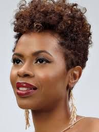 Image result for short natural hair tapered