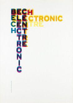 Gerstner + Kutter, Bech Electronic Centre, 1959, Museum für Gestaltung Zürich