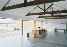 Tilty Hill Barn Conversion by architect John Pawson