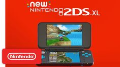 Introducing New Nintendo 2DS XL! Click on Picture to see the video.