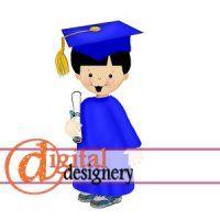 Grad Boy Clipart @ #digital #designery.com