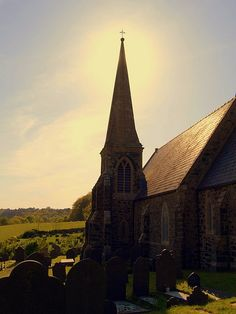 St Mary's Church In Llanfair PG, Anglesey, North Wales, UK by PrestonWalesUK, via Flickr
