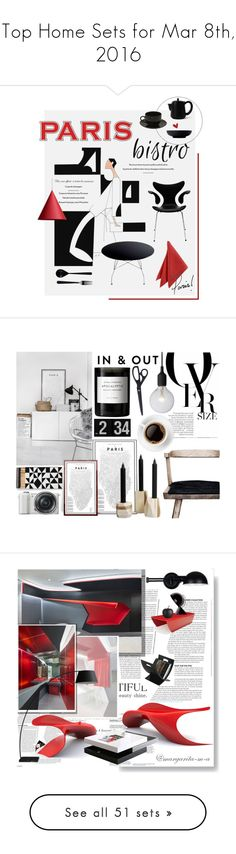"""""""Top Home Sets for Mar 8th, 2016"""" by polyvore ❤ liked on Polyvore featuring interior, interiors, interior design, home, home decor, interior decorating, 10 Strawberry Street, Kartell, Royal Doulton and Fritz Hansen"""