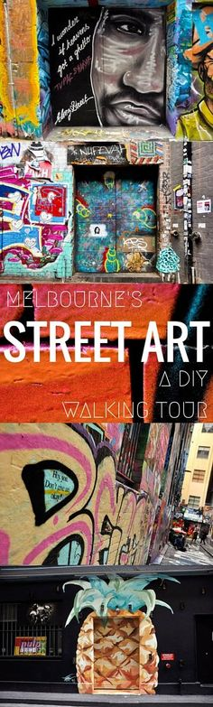 Melbourne's Street Art: A DIY Walking Tour // www.hummingbirdaway.com