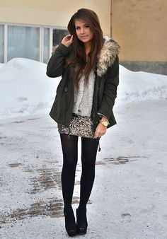 Perfect winter outfit... so my style! I love