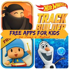 Free iTunes & Android Apps for Kids: Zooistry, Hot Wheels Track Builder, & More!