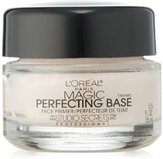 L'Oreal Paris Magic Perfecting Base Face Primer by Studio Secrets Professional 0.50 oz (Pack of 3) *** Find out more about the great product at the image link.