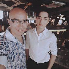 WEBSTA @ tonyhong1004 - #이태원 #마이스윗 #mysweet 중국웹드라마 #상은 으로 유명한 슈퍼스타  #Xu wei zhou  멋지고 잘생기고 매너도 좋다  가게음식 맛있게 먹고가서 나도 기분좋다  내일 팬미팅 무사히 즐겁게 잘하고가길  ㅎㅎㅎ #주주