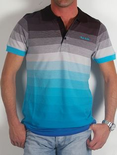 Paul Smith Colorful Polo Shirt for Men
