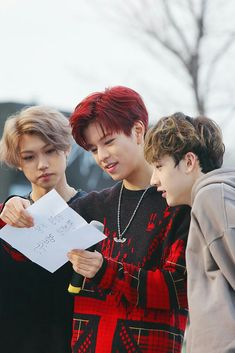 Felix, Seungmin and Chan