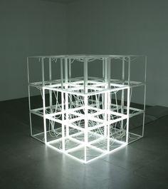 Jeppe Hein - Changing Neon Sculpture, 2006