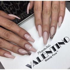 @valentinobeautypure #teamvalentino #dustfreelife #nails #coffinnails #MargaritasNailz #nudenails #gelnails #nailart #valentinobeautypure #nailfashion