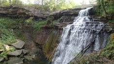 On September 2019 we traveled to the Cuyahoga Valley National Park and visited the Brandywine Falls and the outside are of the Inn at Brandywine Falls. We have heard of some reports around the falls, so we did a little investigating while were there Types Of Evergreen Trees, Brandywine Falls, Red Maple Tree, Local Legends, Summit County, Water Powers, Happy Trails, Haunted Places, Fall Photos
