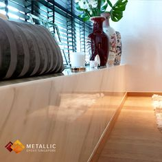 Metallic Epoxy Singapore specialises in metallic epoxy coatings and installations, offering customisable solutions for floors and countertops in Singapore. Epoxy Countertop, Countertops, Bay Window Design, Topcoat, Singapore, Highlights, Marble, Surface, Metallic