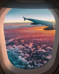 New Travel Wallpaper Iphone Airplane 43 Ideas Sky Aesthetic, Travel Aesthetic, Airplane Photography, Travel Photography, Sunset Photography, Shotting Photo, Photo Images, Looking Out The Window, Travel Wallpaper
