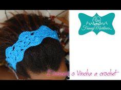 *Cómo hacer una Diadema o vincha a crochet Facilmente* - YouTube Crochet Videos, Headbands, Crochet Patterns, Embroidery, Knitting, Sewing, Hair, Beauty, Youtube