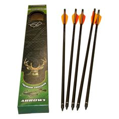 Barnett Headhunter Arrows w/ Field Pt/Moon Nock
