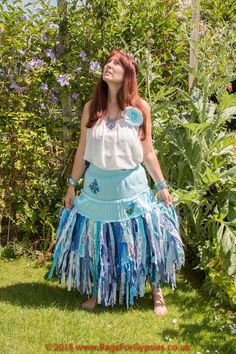 Gypsy Skye Tattered and Ragged Magical Long by RagsForGypsies