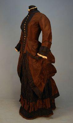 Dress, ca 1880