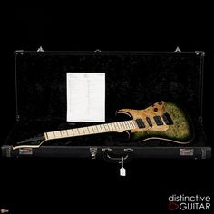 This is one awesome custom build from Suhr. It's no ordinary Standard; featuring a impressively r...