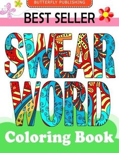 Magic Coloring Books For Adult Swear Word Paintings Arts 40 Pages Relieve Strees