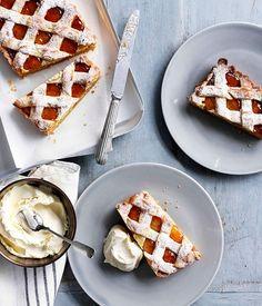 Marmalade and almond tart recipe | Baking recipe | Gourmet Traveller recipe - Gourmet Traveller
