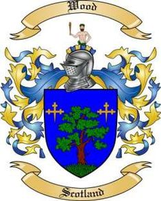 Wood Family Coat of Arms from Scotland