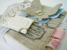 Love this blog-she uses as much burlap as I like to do :-)