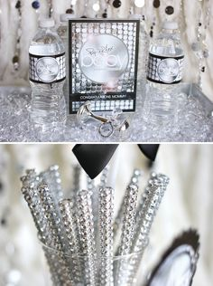 Bling Sticks Party Trend Alert - Hostess with the Mostess® #cakepopbling #blingsticks #bling #partytrend #babyshoweridea #partydecoration #paparazzibabyshower www.partiesinstyle.com