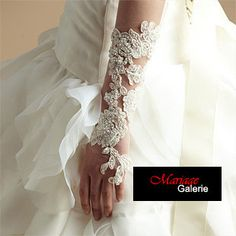 Bridal Gloves collection  Lace wedding gloves  by MariageGalerie, $45.00