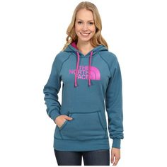 The North Face Half Dome Hoodie Women's Sweatshirt (€40) ❤ liked on Polyvore featuring tops, hoodies, hoodie sweatshirts, pullover hooded sweatshirt, blue sweatshirt, pullover hoodies и pullover hoodie