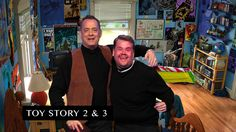 James Corden and Tom Hanks act out snippets from Tom's illustrious film career…
