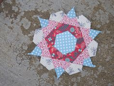 pins and bobbins: english paper piecing