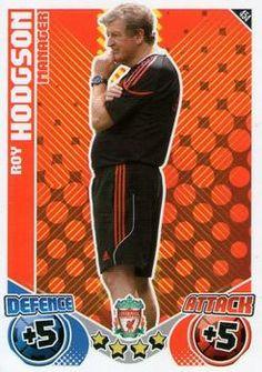2010-11 Topps Premier League Match Attax #454 Roy Hodgson Front