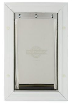 PetSafe Large Freedom Aluminum Pet Door Premium White Pet Supplies Near Me