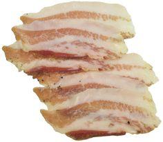 Guanciale Suino Aufschnitt - luftgetrocknete SchweinebackeGuanciale ...