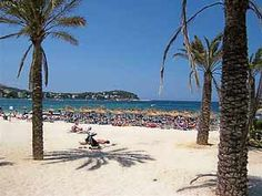 Had a great holiday here with me sisters ;) Santa Ponsa beach, Majorca