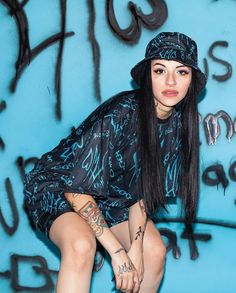 Edgy Outfits, Summer Outfits, Fashion Outfits, Latino Artists, Estilo Hip Hop, Gangsta Girl, Celebrity Wallpapers, Fashion Poses, Quinceanera Dresses